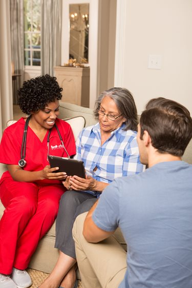 Learn some ways to start the senior care conversation with your family
