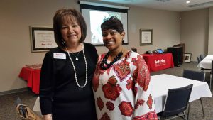Rhonda Moody of Interim HealthCare of the Upstate inspires survivors