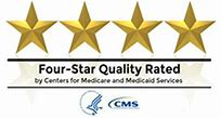 4 star quality rated by CMS