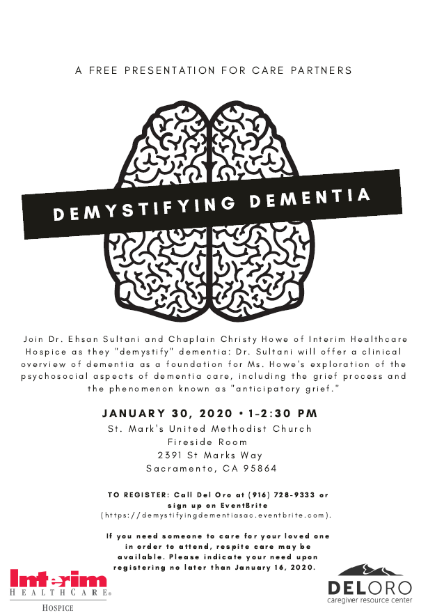 Demystifying Dementia Event