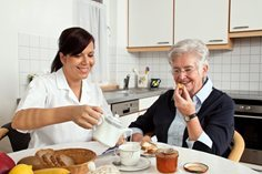 Seniors who eat well are more likely to be active and healthy