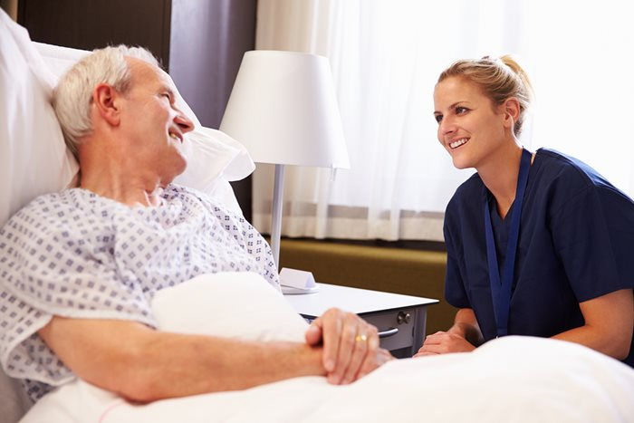 Discharging older people from hospital to care homes