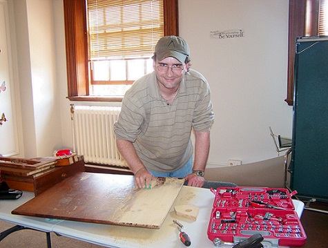 Woodworking-Therapy Helps Patients With Traumatic Brain Injuries
