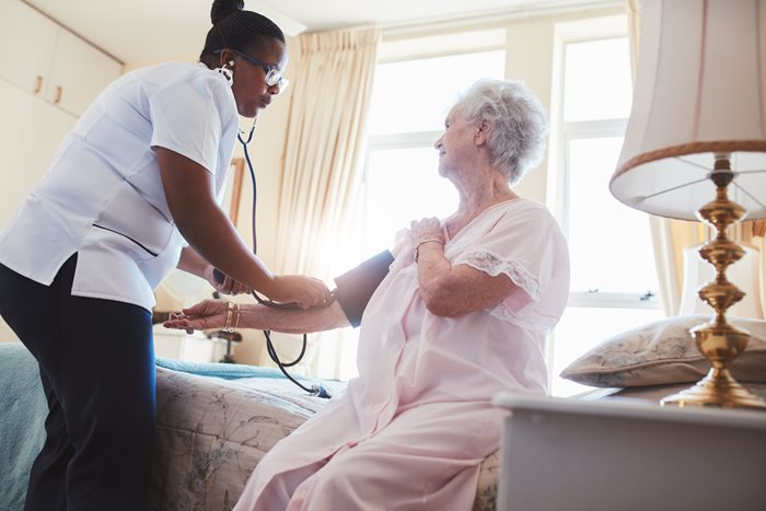 How Can Elder Care Help a Senior with High Blood Pressure?