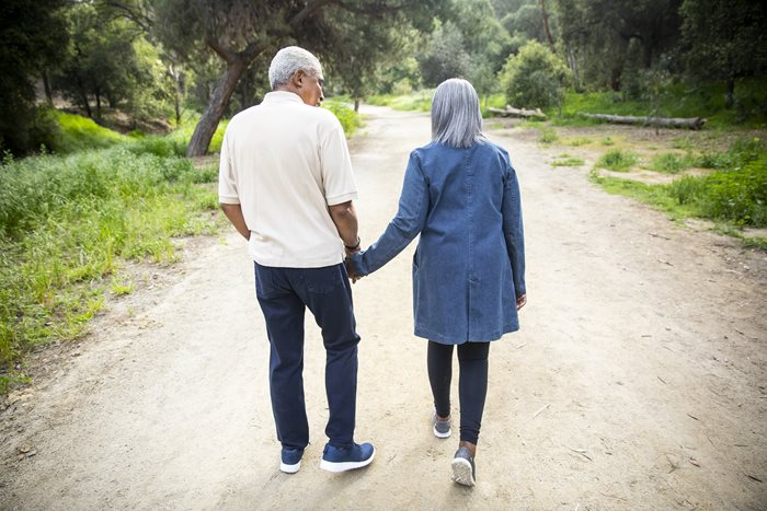 Walking as a Means to Ease Caregiver Stress