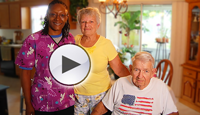 Veteran Supported by In-Home Healthcare