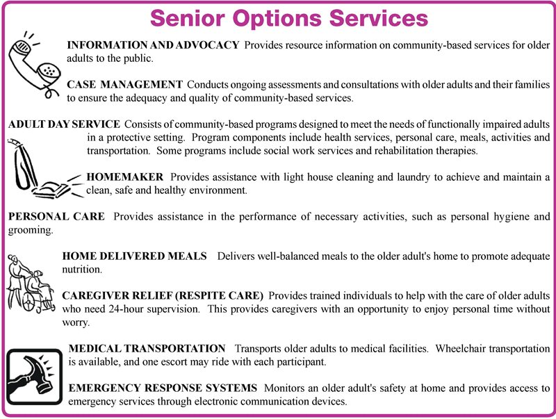 Senior Options Services for Columbus, OH .