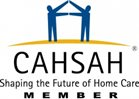 CAHSAH logo for provider of in home care in San Diego