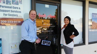 Brenden & Katie Pichette, Owner Interim HealthCare of Jackson, CA