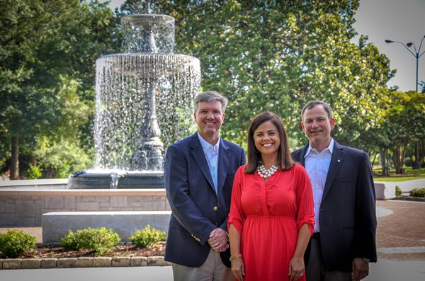 Chris Sims, Heather Sims and Rick Mixon - Owners of Interim HealthCare of Macon, GA which provides in home care in Macon