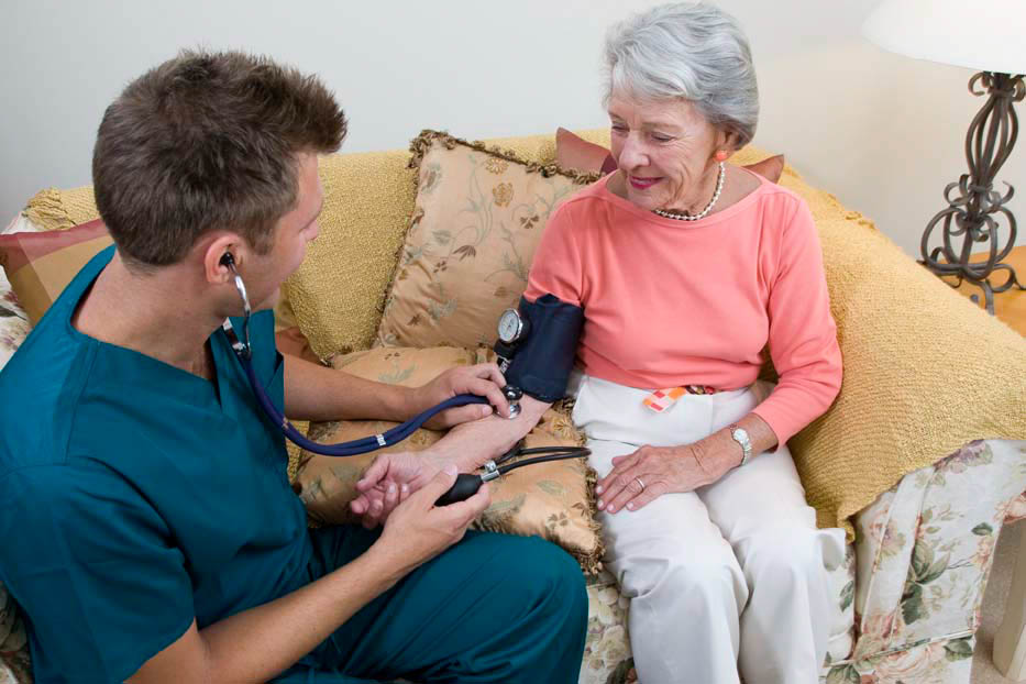 HIgh blood pressure is an issue that is very common in seniors.