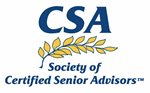 A Certified Senior Advisor (CSA) works here