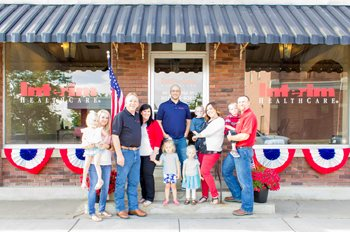 The Peterson Family - Owners of Interim HealthCare of Layton, Utah