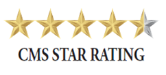 Interim HealthCare of San Diego County is proud of our 4.5 Star Rating by Centers for Medicare and Medicaid Services