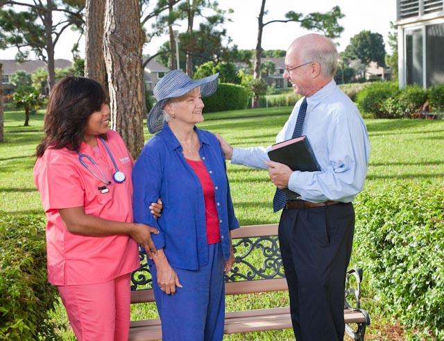 Interim HealthCare Hospice offers a team approach.