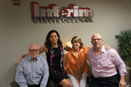 Mr. & Mrs. Ricardo Weisz and Mr. & Mrs. Daniel Kern - Owners of Interim HealthCare of Miami, Floirda