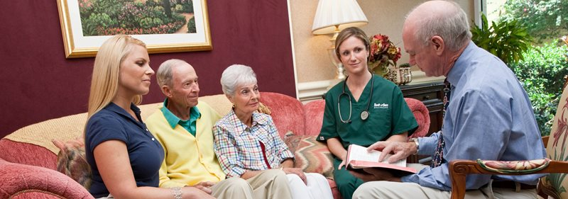 Hospice Care provides comfort to the patient and their family in a time of need.