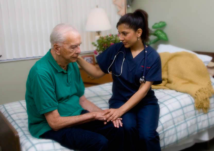 Home hospice care may be granted to a veteran.