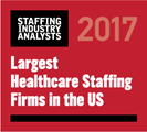 Interim named as one of the largest healthcare staffing agenices in the nation for 2015