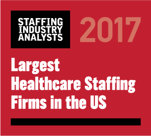 Interim was named one of the largest healthcare stafiing agencies in the U.S.