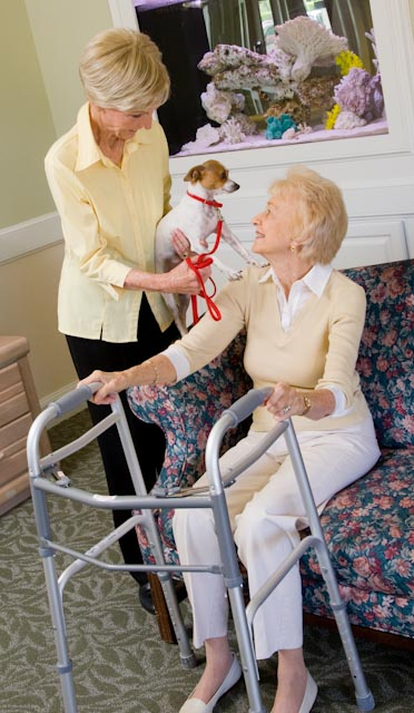 Ask us about our Caring Touch Hospice Programs