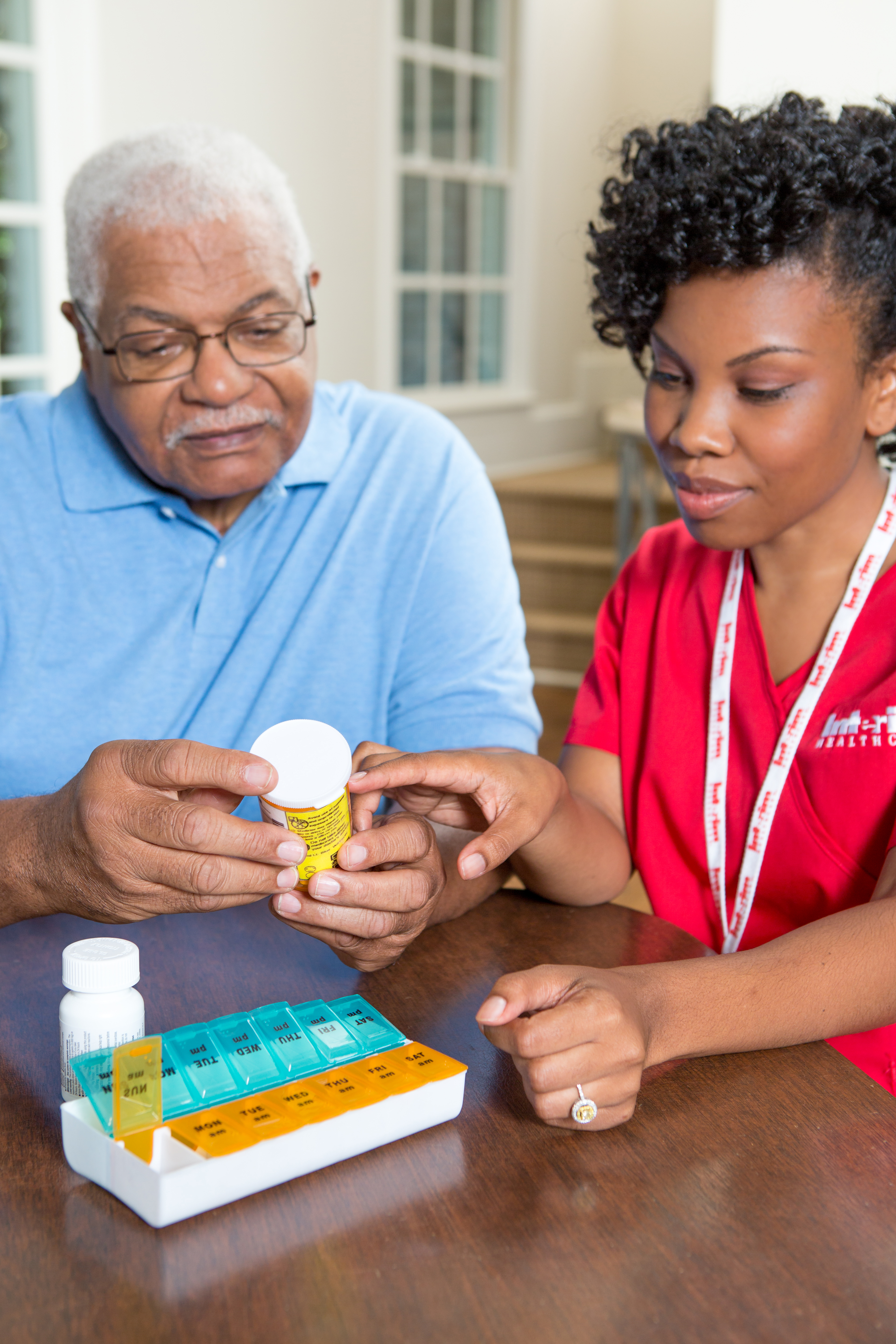 Taking medications can be confusing to older adults.
