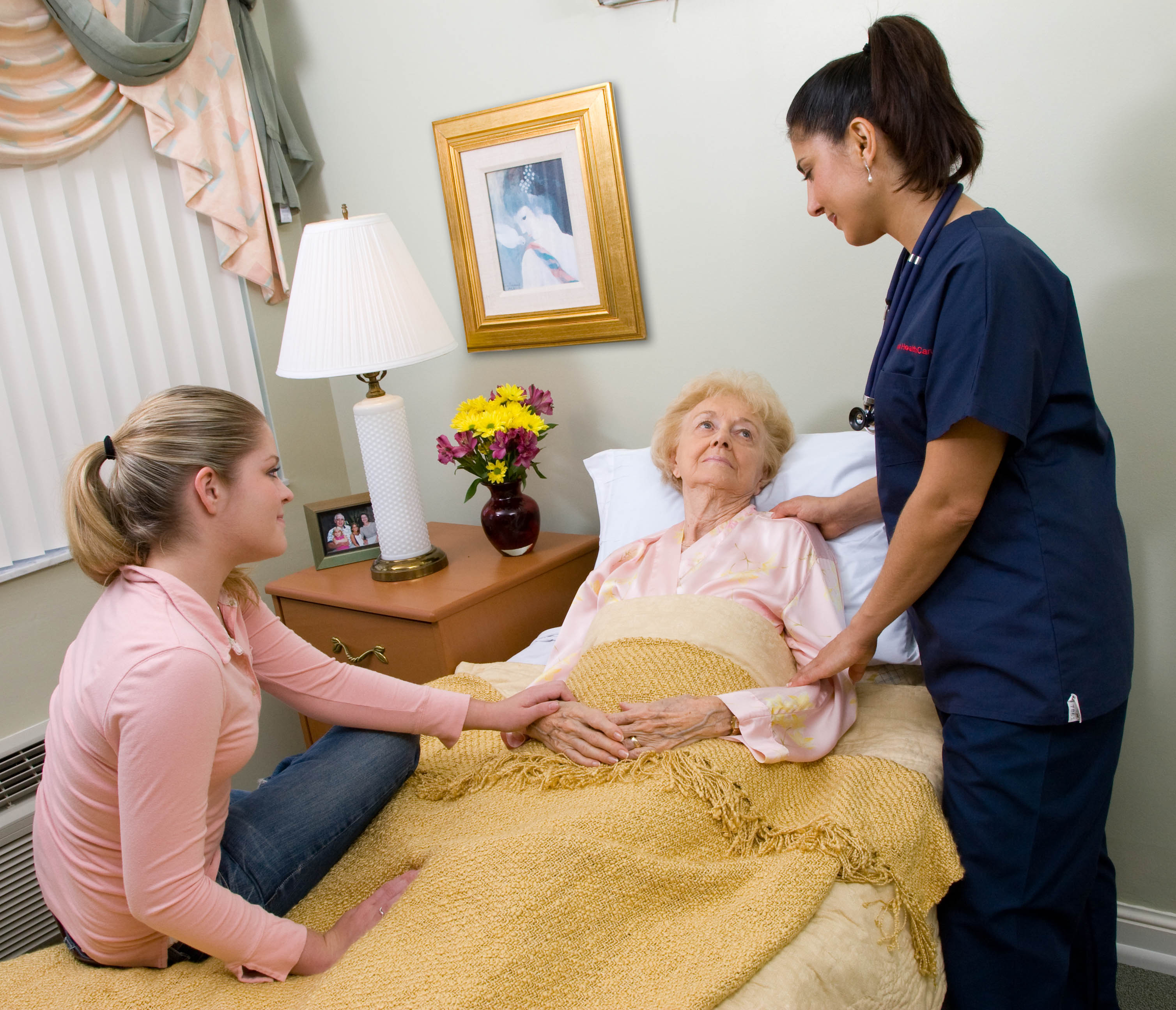 Palliative care is focused on relief of pain.