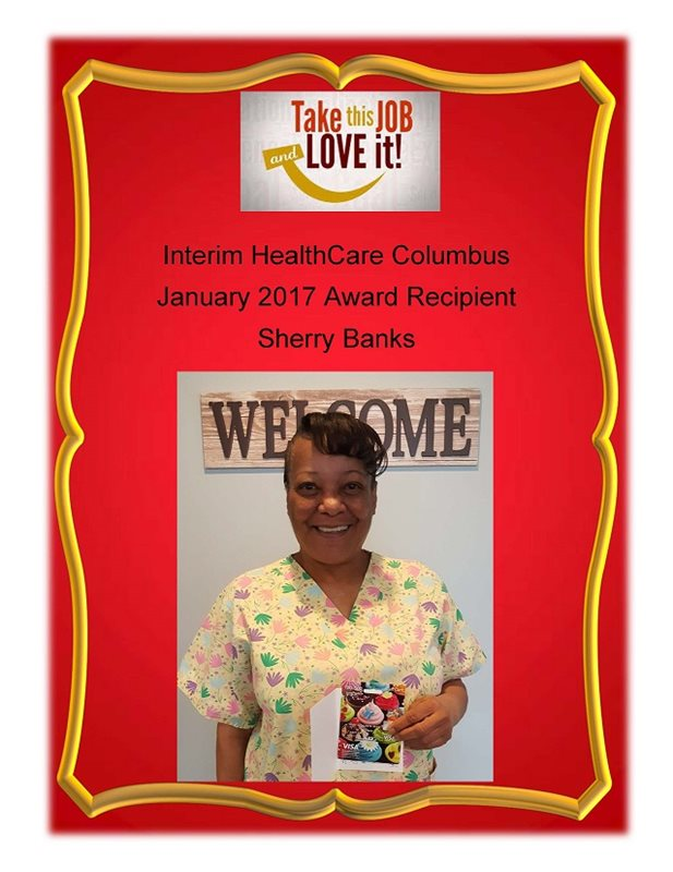 January 2017 - Award Recipient - Sherry Banks