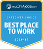 "Interim HealthCare Named ""Best Place to Work"" by MyCNAjobs.com"