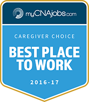 Interim HealthCare voted best place to work by MycNAjobs.com