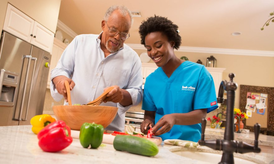 Proper nutrition contributes to the best possible health for seniors.