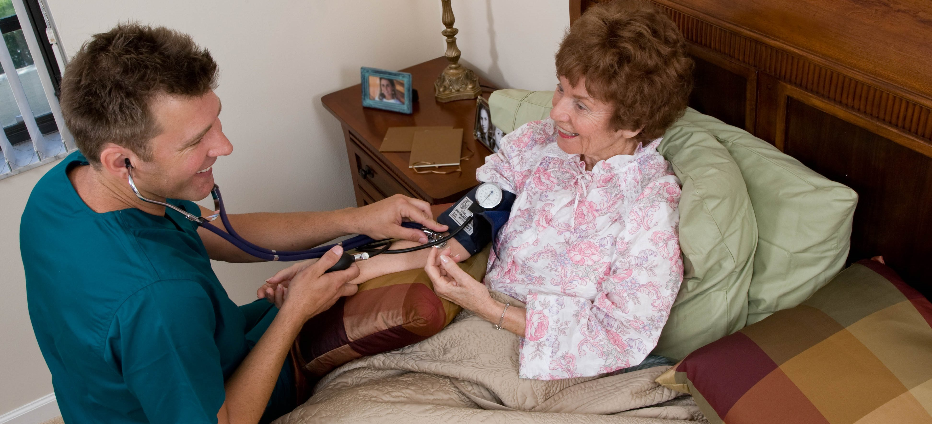 home care by interim healthcare professionals